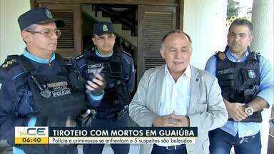 Isaac Macêdo tem destaques do plantão policial - Saiba mais em g1.com.br/ce