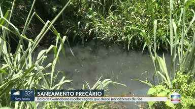 Mais de 60% das casas de São Gonçalo não têm ligação e tratamento de esgoto - É o oitavo pior município do Brasil, segundo ranking do lnstituto Trata Brasil.