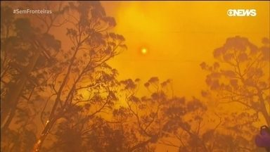 Os incêndios na Austrália