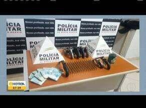 Homem é preso suspeito de comercializar armas ilegais em Inhapim - O suspeito foi preso por comércio ilegal de armas de fogo e munição.