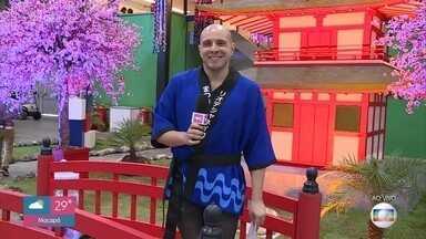 Ivo Madoglio mostra feira de cultura Japonesa - A feira acontece na zona oeste do Rio de Janeiro