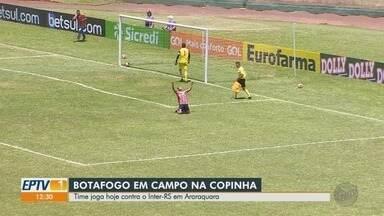 Botafogo-SP enfrenta o Internacional-RS na Copinha 2020 - Jogo acontece na noite desta sexta-feira (17) em Araraquara (SP).