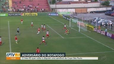 Internacional-RS segue invicto na Copa São Paulo de Futebol Júnior - Adversário do Botafogo-SP quer voltar a disputar a semifinal de Copinha.