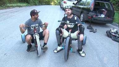 Filipe Almeida se aventurou no Drift Trike - Assista ao vídeo!
