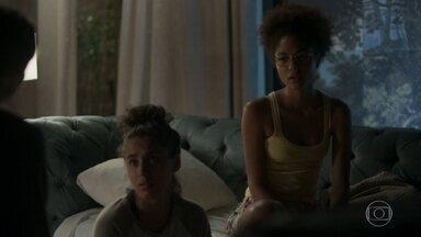 Alice e Gabriela comentam que são mais felizes em Bom Sucesso do que na casa de Alberto - undefined