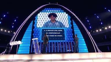 Ezequiel e Manfrinni continuam na disputa pelo prêmio do The Wall - Dupla segue para a segunda etapa do jogo