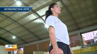 Atleta maranhense do handebol Silvia Helena realiza projeto social em São Luís - Atleta possui mais de 20 anos de Seleção Brasileira e fez carreira em clubes da Europa.