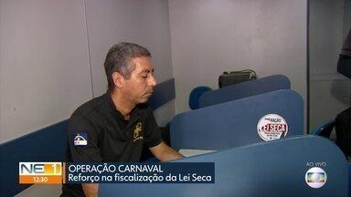 Operação especial da Lei Seca intensifica fiscalização em Pernambuco - Operação Prevenção faz com que condutores façam teste do bafômetro antes de entrar no carro.