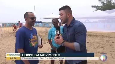 Diversas atividades agitam o Sesc Verão em Campos - O repórter Cléber Rodrigues também se arrisca nas atividades da programação do evento.