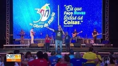 Comunidade católica Obra de Maria celebra 30 anos na Arena de Pernambuco - Ações da Obra de Maria estão em 34 países.