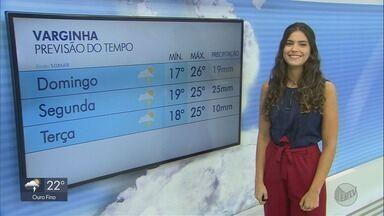 Confira a previsão do tempo para este sábado (18) no Sul de Minas - Confira a previsão do tempo para este sábado (18) no Sul de Minas