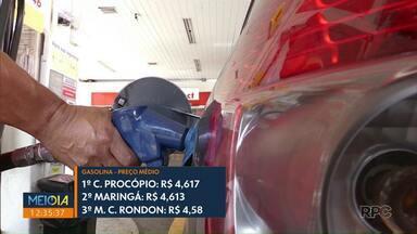 Maringá encerra semana com a 2ª gasolina mais cara do PR - Pesquisa é da ANP.