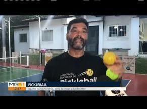 Pickleball vira febre em Governador Valadares - Esporte é oriundo dos Estados Unidos e combina tênis, tênis de mesa e badminton.