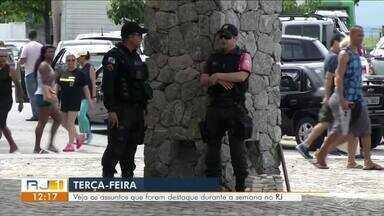 Resumo da Semana: RJ1 mostra destaques no Sul do Rio - Veja o que foi notícia entre os dias 13 de janeiro a 17 de janeiro.