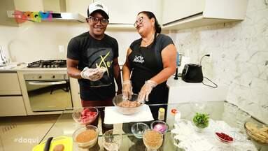 Veja a receita do 'Sabores Daqui' - Quadro desta semana ensinou como preparar um delicioso kibe cru.