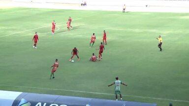 CRB fica no empate com o Coruripe antes da estreia no Nordestão - Jogando no Rei Pelé, equipes ficam no 0 a 0
