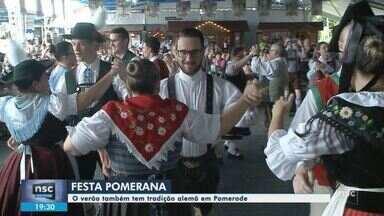 37ª Festa Pomerana reúne o público até o dia 26 de janeiro em Pomerode - 37ª Festa Pomerana reúne o público até o dia 26 de janeiro em Pomerode