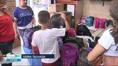 Procura por material escolar movimenta economia no comércio em Serra Talhada - É preciso pesquisar para encontrar os melhores preços.