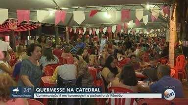 Homenagem ao padroeiro de Ribeirão Preto tem quermesse na catedral - Fieis celebram Dia de São Sebastião na próxima segunda-feira (20).