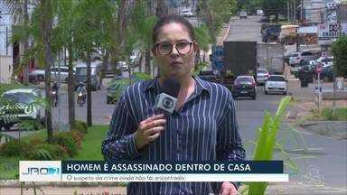 Homem é assassinado dentro de casa em Ji-Paraná - Suspeito do crime ainda não foi encontrado. Esse é o segundo caso registrado no município nos últimos 18 dias do ano.
