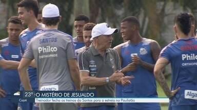 Santos estreia no campeonato paulista nesta quinta-feira (23) - Jogo contra o Bragantino acontece na Vila Belmiro. Treinos permanecem secretos.
