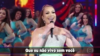"""Solange Almeida canta """"Correndo Atrás De Mim"""" - Cantora animou o palco com esse super sucesso."""