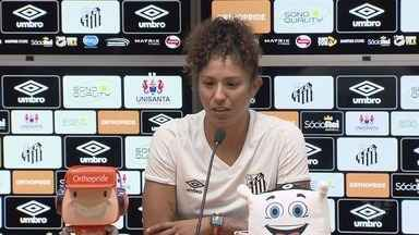 De volta ao Santos, Cristiane destaca carinho do torcedor e fala de sonho olímpico - Atacante fará sua terceira passagem pelas Sereias da Vila.