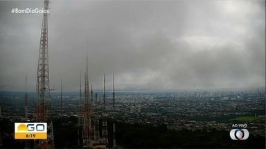 Veja a previsão do tempo em Goiás - Chuva forte deixou vários estragos na capital e novas precipitações podem ocorrer.