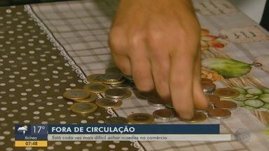 Comerciantes procuram por moedas fora de circulação - Especialista comenta hábito de guardar moedas em casa