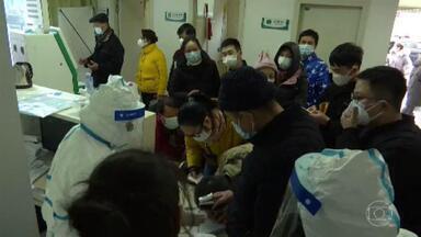 Na China, Coronavírus já matou 17 pessoas e infectou mais de 500 - A cidade de Wuhan, onde apareceram a maioria dos casos, está isolada. No Brasil, a Secretaria de Saúde de Minas e Ministério da Saúde divergem sobre caso suspeito.