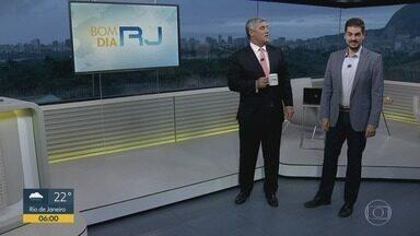 Bom dia Rio - Edição de sexta-feira, 24/01/2020 - As primeiras notícias do Rio de Janeiro, apresentadas por Flávio Fachel, com prestação de serviço, boletins de trânsito e previsão do tempo.