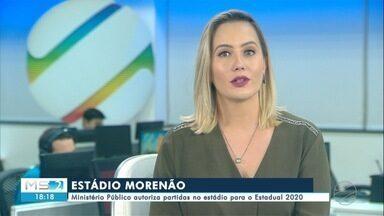Ministério Público autoriza partidas no estádio para o Estadual 2020 - Ministério Público autoriza partidas no estádio para o Estadual 2020