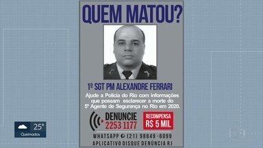 PM de folga é morto a tiros na Praça da Bandeira. Zona Norte do Rio - Ele foi abordado por um bandido em uma moto.