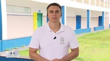 Pais tem dificuldade de matricular filhos em escolas perto de casa - Secretário de Educação, Pedro Fernandes diz que algumas escolas terão transtornos temporários para receber mais alunos.