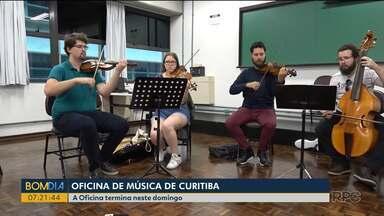 Oficina de Música de Curitiba termina neste domingo (26) - A edição recebeu pessoas de vários países.