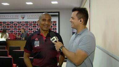Cristóvão Borges conversa com o GE após apresentação - Novo téncico do Atlético-GO foi apresentado neste sábado.
