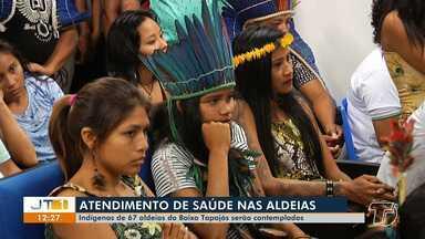 Indígenas de 67 aldeias do baixo tapajós serão contemplados com atendimentos de saúde - Saiba mais sobre o benefício.