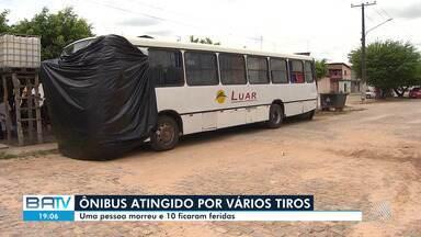 Um pessoa morre e dez ficam feridas após ataque à ônibus próximo da cidade de Candeias - O veículo foi atacado por um grupo que saiu de um matagal.