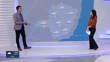 Meteorologia prevê diminuição do volume de chuva em Minas Gerais nos próximos dias