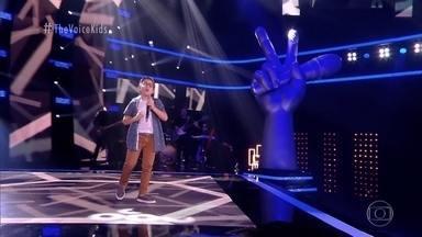 Lucas Mohallem canta 'A Lenda' nas Audições às Cegas - Confira!