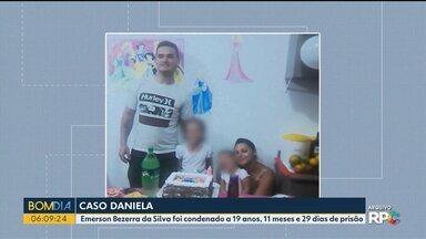 Marido de Daniela vai a Juri Popular e é condenado - Emerson Bezerra da Silva foi condenado a 19 anos, 11 meses e 29 dias de prisão pela morte da esposa.