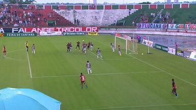 Confira os melhores momentos de Vitória e Fluminense de Feira, pelo Campeonato Baiano - Jogo resultou em 2 a 2.