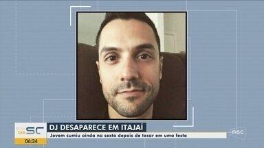 DJ desaparece após tocar em festa em Itajaí - DJ desaparece após tocar em festa em Itajaí