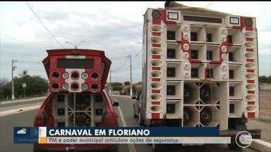 PM e Prefeitura de Floriano articulam plano de segurança para o carnaval 2020 - PM e Prefeitura de Floriano articulam plano de segurança para o carnaval 2020