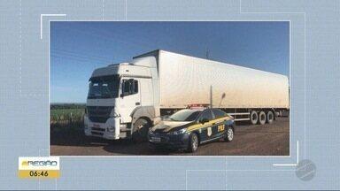 Suspeito é preso com caminhão roubado em São Paulo - Suspeito é preso com caminhão roubado em São Paulo