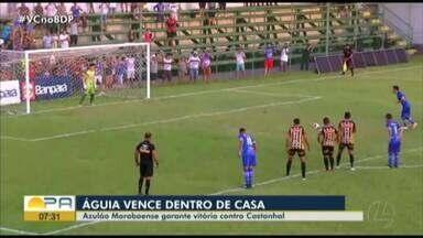 Com o apoio da torcida no Zinho, Águia vence o Castanhal: Veja os gols: - Com o apoio da torcida no Zinho, Águia vence o Castanhal: Veja os gols: