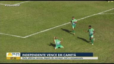 Independente vence o Itupiranga no Parque do Bacurau. Veja os gols: - Independente vence o Itupiranga no Parque do Bacurau. Veja os gols: