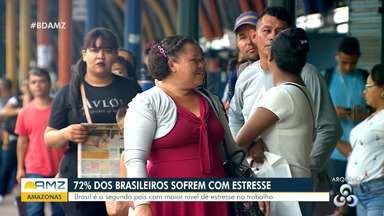 Brasil é o segundo país com maior nível de estresse no trabalho - Brasil é o segundo país com maior nível de estresse no trabalho