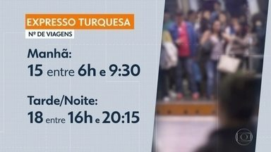 Linha 10 Turquesa amplia oferta de viagens aos passageiros - Linha passa a operar com viagens expressas em horário de pico