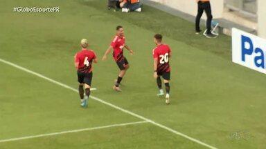 Athletico goleia Londrina e vira líder isolado - Furacão é o único time a vencer as três partidas no Paranaense